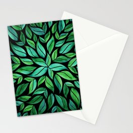 Night Leaves Stationery Cards
