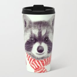 Indi raccoon Travel Mug