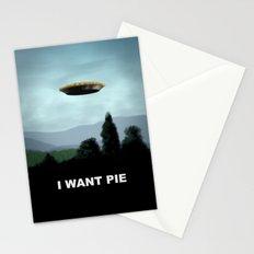 I Want Pie Stationery Cards