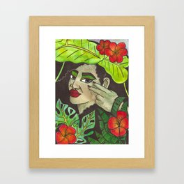 Tropical Enchanter Framed Art Print