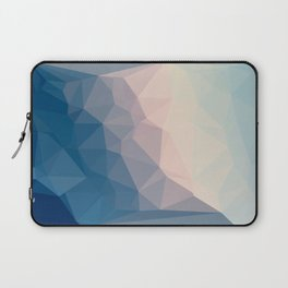 BE WITH ME - TRIANGLES ABSTRACT #PINK #BLUE #1 Laptop Sleeve