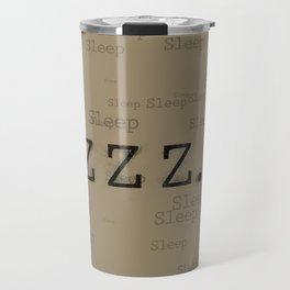 ZZZ... Sleep Travel Mug