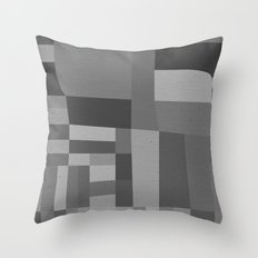 49th and Oak Black and White Throw Pillow