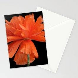 time for poppies -c- Stationery Cards