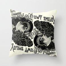 Psychobilly Throw Pillow