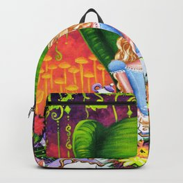 Alice in Wonderland at a Tea Party Backpack