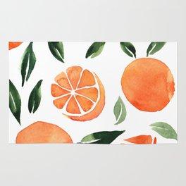Summer oranges Rug