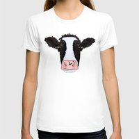 cow T-shirts featuring Cow by Compassion Collective