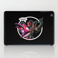 transformers iPad Cases featuring Transformers Grave Robber KnockOut  by Laserbot