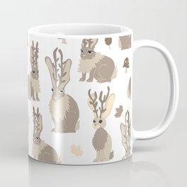 Jackalope Forest Coffee Mug