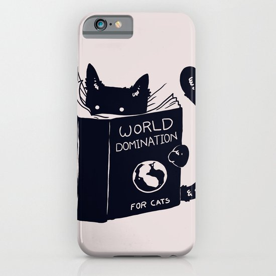 World Domination For Cats iPhone & iPod Case