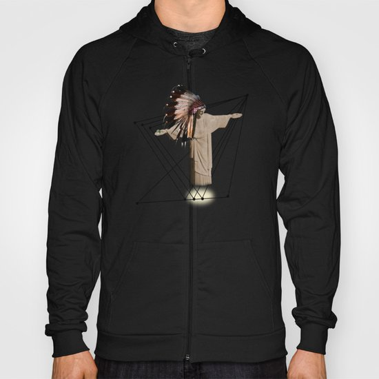 What if the Christ was an indian ?! Hoody