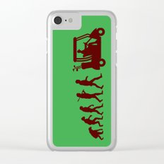 Evolution - golf Clear iPhone Case