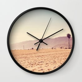 Vintage Santa Monica Wall Clock