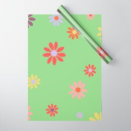 FlowerPower Wrapping Paper