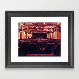 The Gate Cinema Framed Art Print