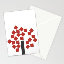 le fin fond de coup Stationery Cards