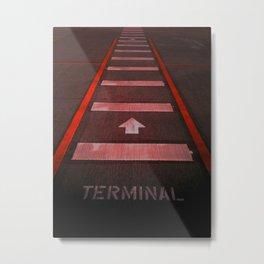 Terminal B Metal Print