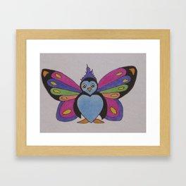Flutter Buddy Penguin Framed Art Print