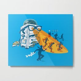 Bad Day At The Office Metal Print