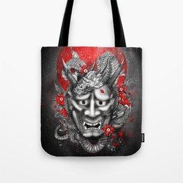 Hannya dragon mask Tote Bag