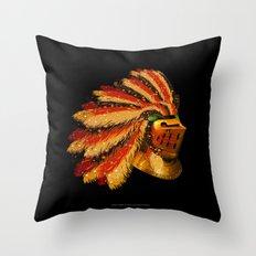 Indian Knight 129WP Throw Pillow