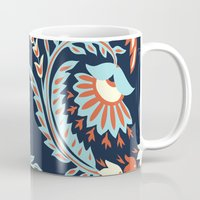 flora Mugs featuring Flora by Tracie Andrews
