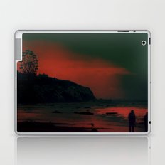 Carnival at the Beach Bathed by the Red Sunset Laptop & iPad Skin