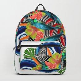 tropic crazyness mandala Backpack