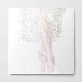 Ballet Slippers Metal Print