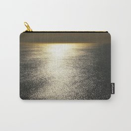 Golden Silence Carry-All Pouch