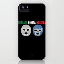 Mask vs Mask iPhone Case