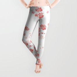 Cherry Flower 6 Leggings