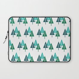Three Christmas Trees Laptop Sleeve