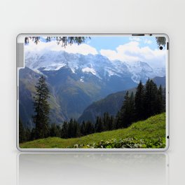 Swiss Alps View Laptop & iPad Skin