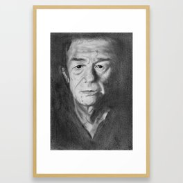 John Hurt Framed Art Print
