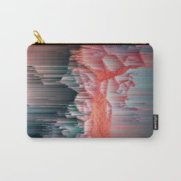 Glitched Out - Pixel Abstract Art Carry-All Pouch