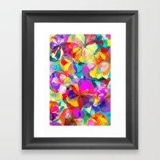 Flower carpet(56) Framed Art Print
