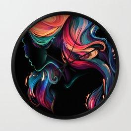 Deep Sea Neon Wall Clock