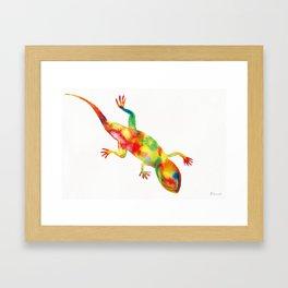 Mr. Lizard 1 Framed Art Print