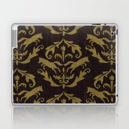 Fox Damask Laptop & iPad Skin