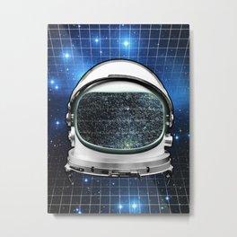 Astro Static Metal Print
