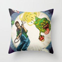 luigi's mansion Throw Pillow