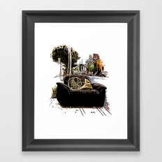 Chairs of Montreal Framed Art Print