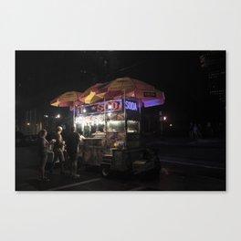 NY Hotdogs Canvas Print