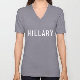 Hillary Unisex V-Neck