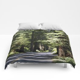 Humboldt State Park Road Comforters