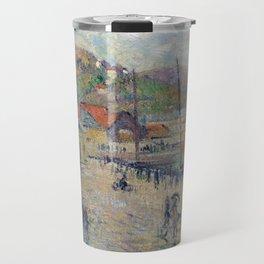 Gustave Loiseau Le Grand Quai, Fécamp Travel Mug