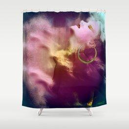 Break free Shower Curtain