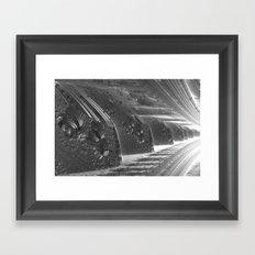 Cannon Battery (Desaturate) Framed Art Print